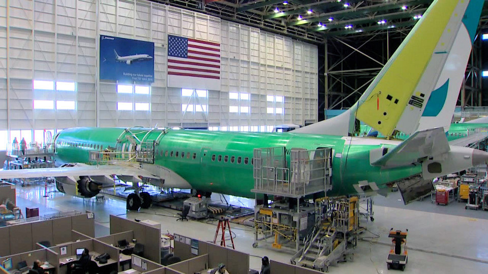737 MAX -9 production
