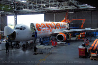 easyJet 737-700 G-EZJP on D check