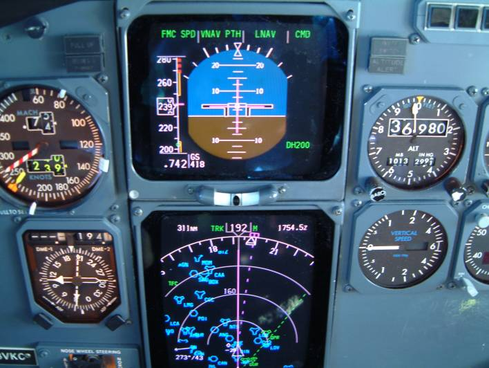Boeing 737 Flight Instruments