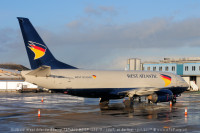 West Atlantic 737-300 BDSF G-JMCU