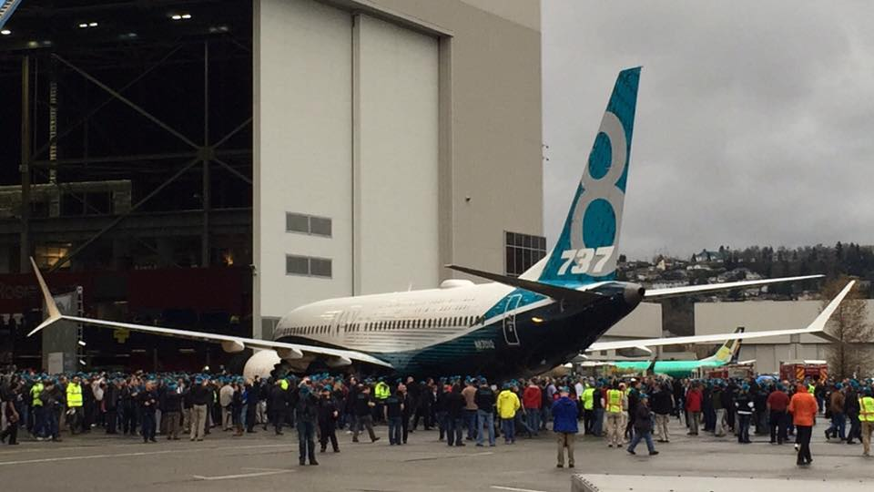 the boeing 737 max 8 dec 2015 737 max rollout
