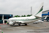 N50TC Boeing 737-700 BBJ at Luton