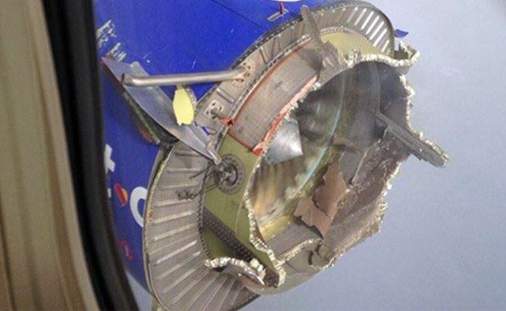 N766sw Loss Of Inlet Cowl And Engine Failure