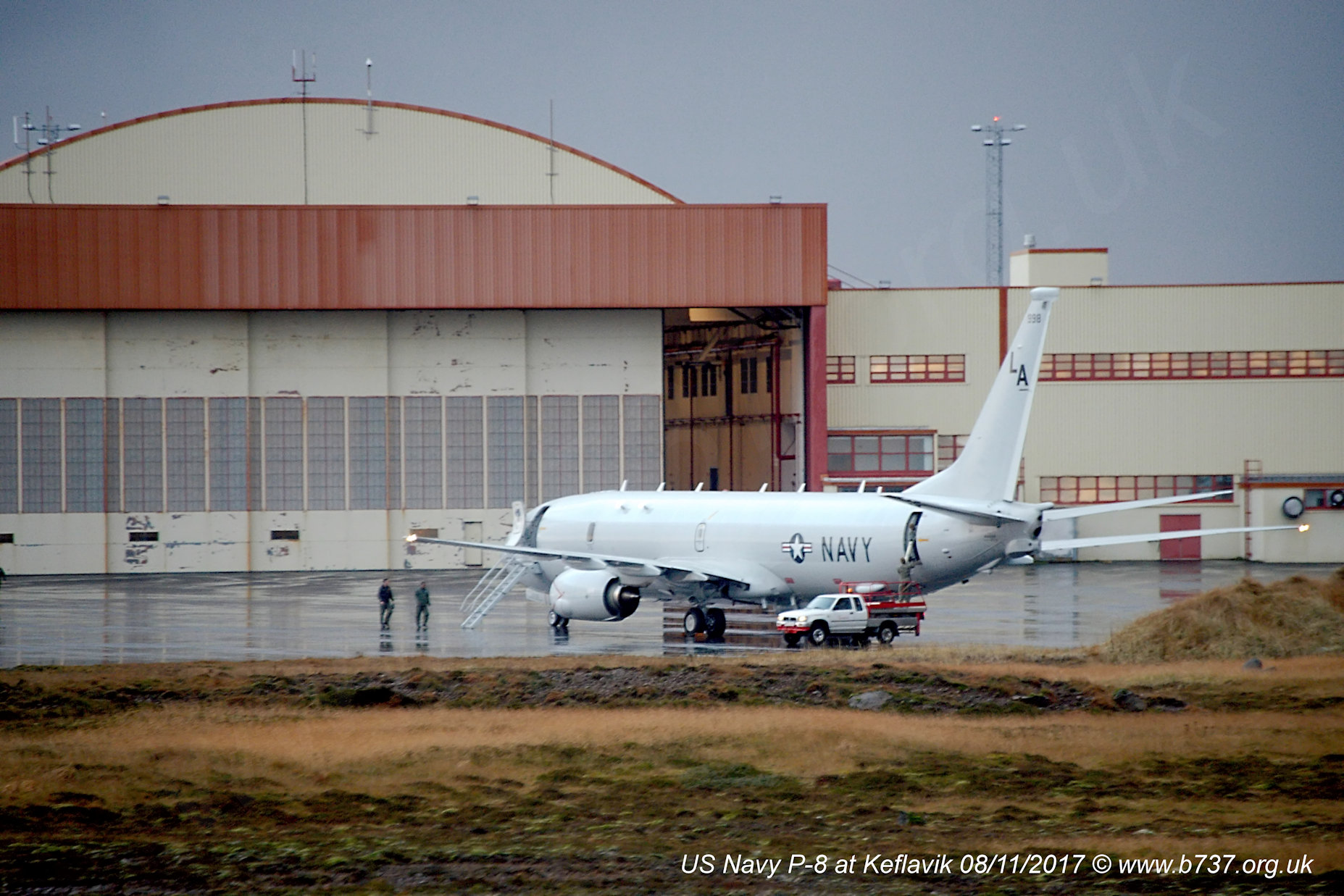US Navy 737 P-8A 168998 at Keflavik