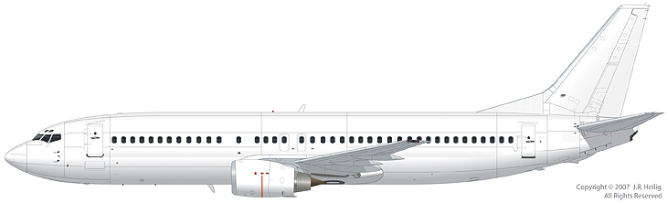 The 737-400SF freighter conversion by ICAS has a 9 pallet capacity