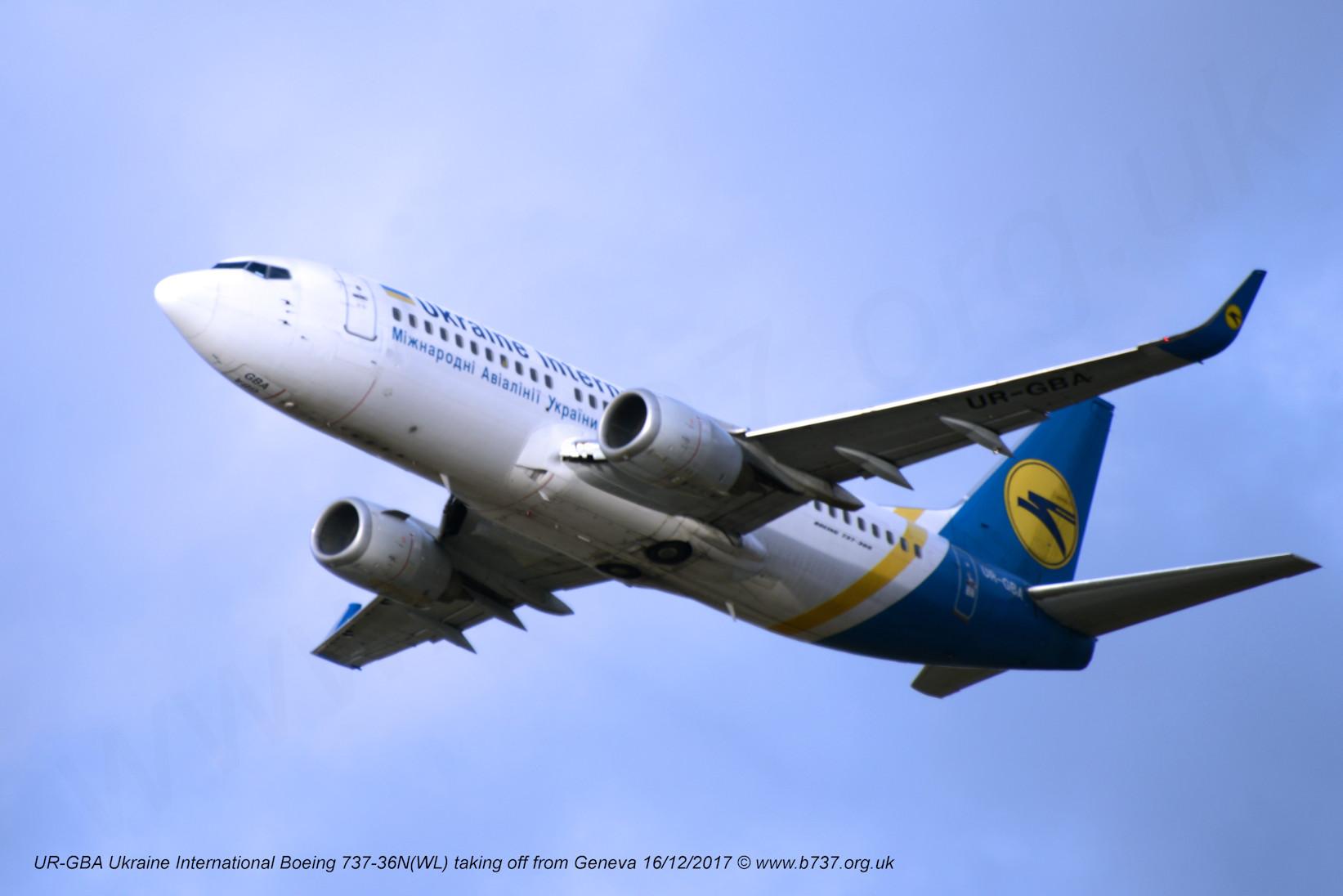 vols ukraine international airlines